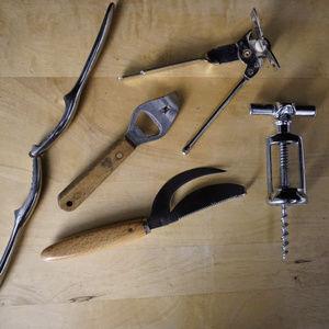 5 piece lot of kitchen gadgets VGUC